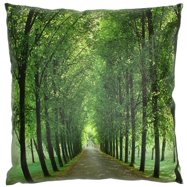 Oriental Furniture Path Of Life Throw Pillow