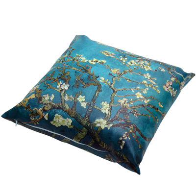 Oriental Furniture Van Gogh Almond Blossoms Throw Pillow