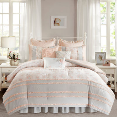 Madison Park Harmony Floral Comforter Set