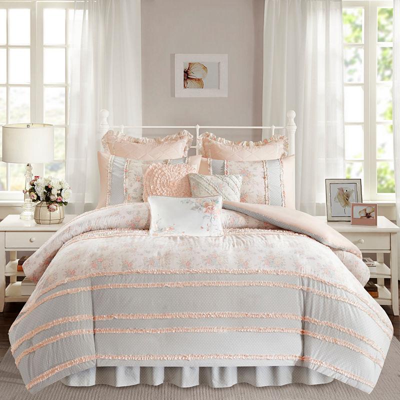 UPC 675716837358 product image for Madison Park Harmony Floral Duvet Cover Set | upcitemdb.com
