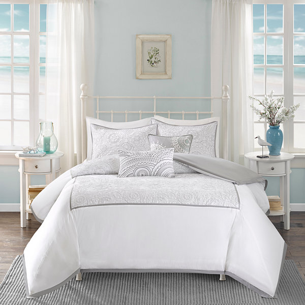Harbor House Cranston 5-pc. Duvet Cover Set