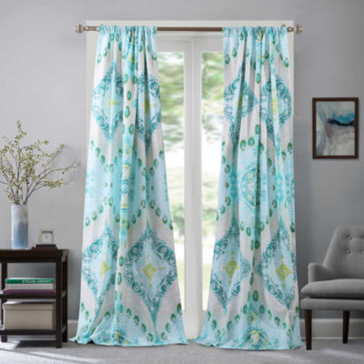 Barefoot Bungalow Cascade Rod-Pocket Curtain Panel