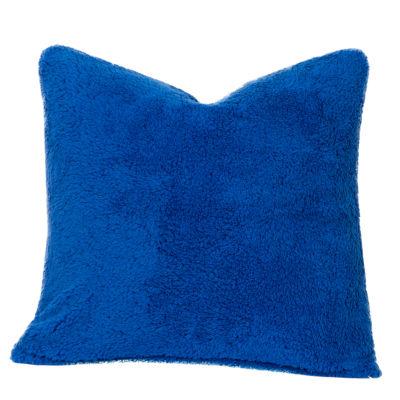 Crayola Playful Plush Blue Berry Blue Throw Pillow - JCPenney