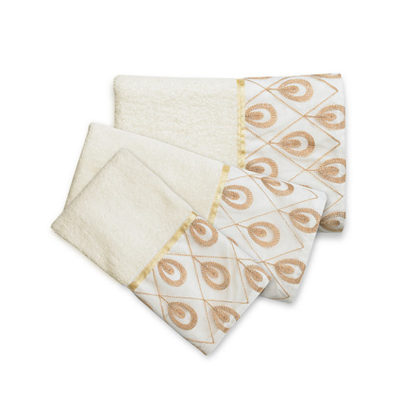 Popular Bath Seraphina 3-pc. Bath Towel Set