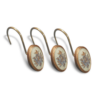 Popular Bath Savoy Shower Curtain Hooks