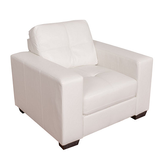 Club Bonded Leather Chair