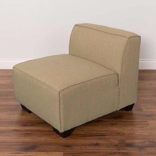 Lida Fabric Middle Sectional Chair