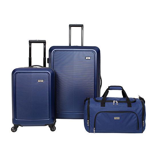 Dockers Oceanside 3 Pc Hardside Luggage Set Jcpenney
