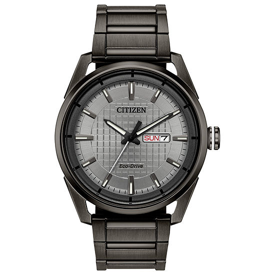 Drive from Citizen Mens Gray Stainless Steel Bracelet Watch - Aw0087-58h