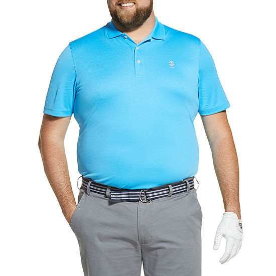 IZOD Big and Tall Golf Grid Polo Shirt