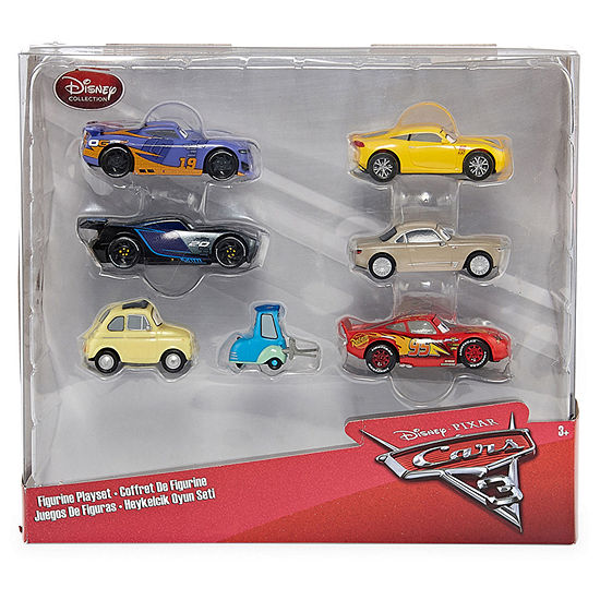 Disney Collection Cars 6-Pc. Figurine Playset