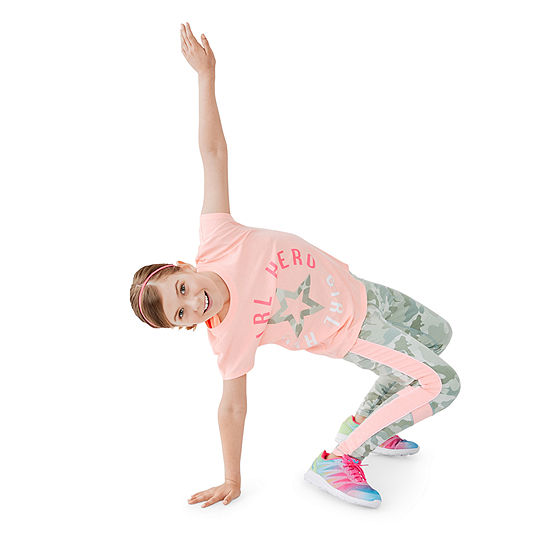 Xersion Girls Graphic Tee Legging