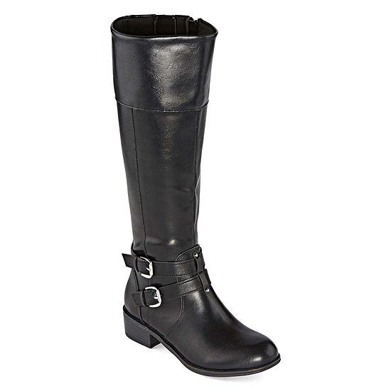 Arizona Womens Denver Riding Boots Block Heel