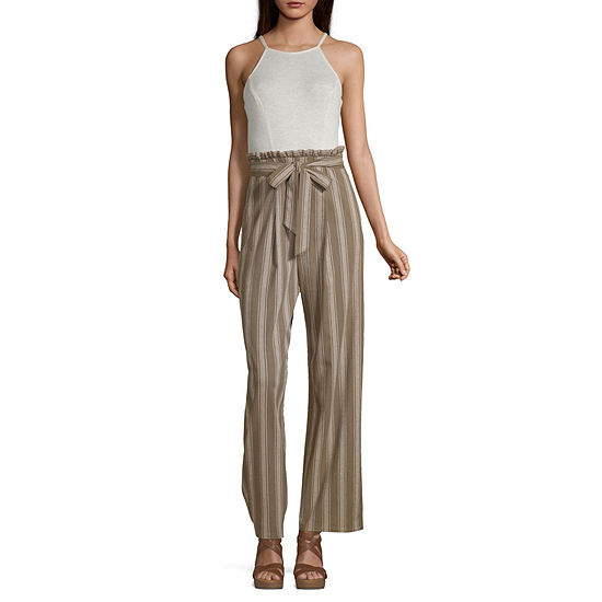 Speechless Sleeveless Jumpsuit-Juniors