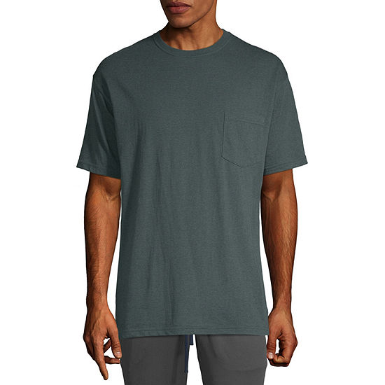 Stafford Short Sleeve Crew Neck T-Shirt-Tall
