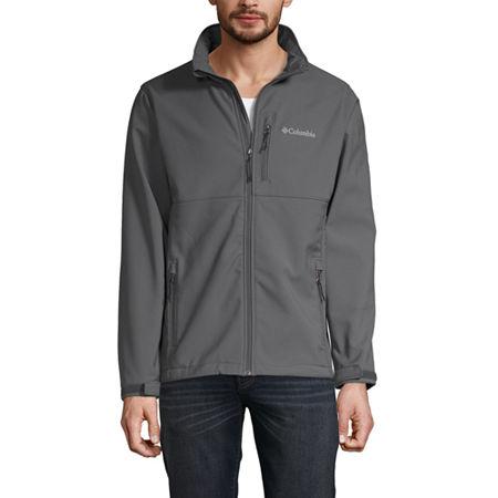 Columbia Ascender Softshell Jacket, Xx-large , Gray
