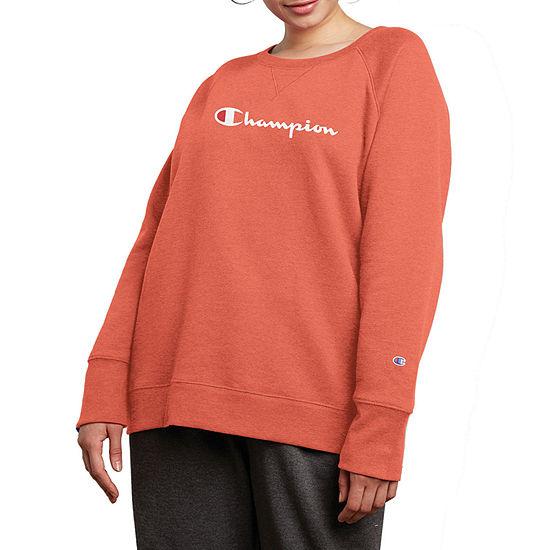 Champion Fleece Pullover Sweatshirt - Plus