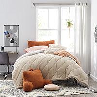 Home Expressions He Jersey Diagonal 3pc Comforter Set Deals