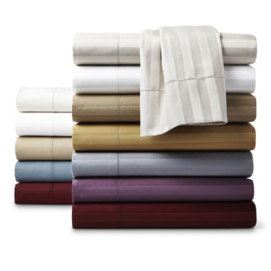 jcpenney.com | Royal Velvet® 500tc Wrinkle-Free Damask Sheet Set
