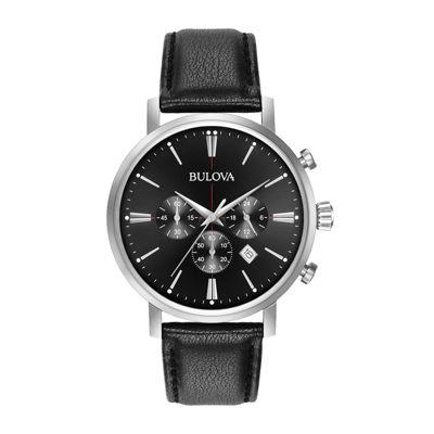 Bulova Womens Silver Tone Bracelet Watch-96p174