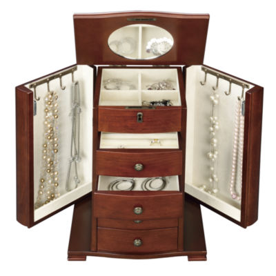 Walnut Jewelry Box  sc 1 st  JCPenney & Walnut Jewelry Box - JCPenney Aboutintivar.Com