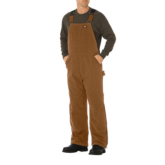 Dickies® Sanded Duck Insulated Bib Overalls - Big & Tall