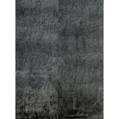 Loloi Charcoal Shag Rectangular Rug