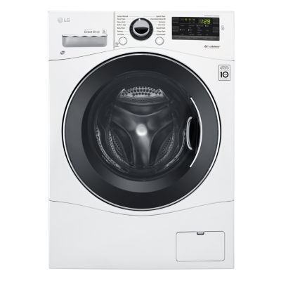 """LG ENERGY STAR® 2.3 cu. ft. Capacity 24"""" Compact Front Load Washer"""