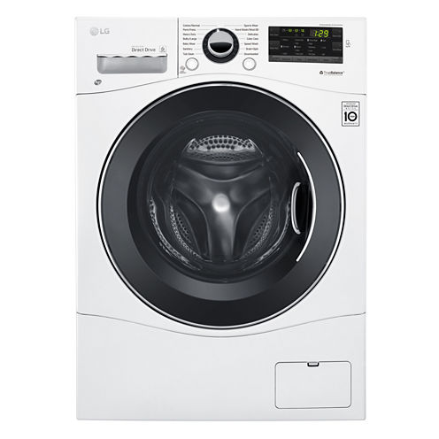 "LG ENERGY STAR® 2.3 cu. ft. Capacity 24"" Compact Front Load Washer"