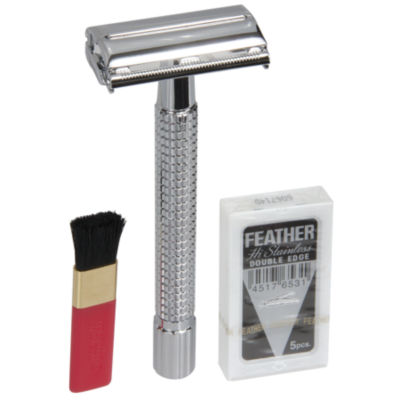 Naturally by Kingsley Safety Razor Box