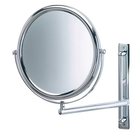 Jerdon 3X Magnification Makeup Mirror, One Size , Silver