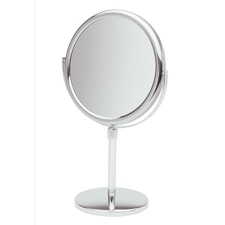 Jerdon 5X Magnification Makeup Mirror, One Size , Silver