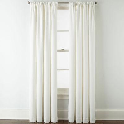 Liz Claiborne Quinn Room-Darkening Rod Pocket Single Curtain Panel