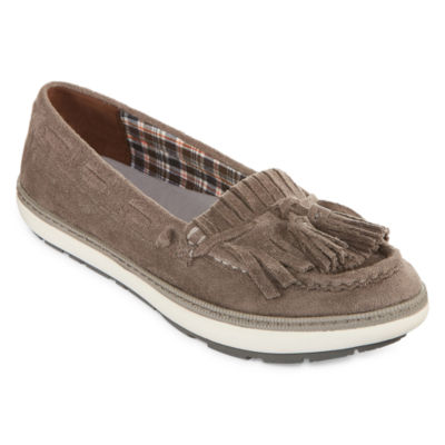 Yuu Vermont Womens Slip-On Shoes Closed Toe
