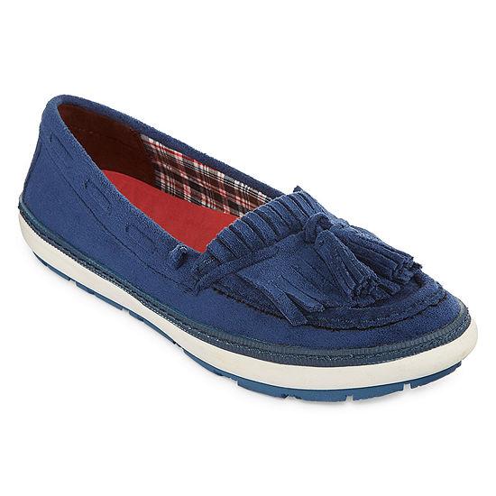 Yuu Womens Vermont Slip-On Shoe Round Toe