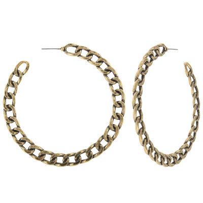 Decree 2 Inch Hoop Earrings