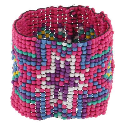 Decree Womens Beaded Bracelet