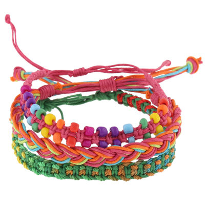 Decree Womens Beaded Bracelet