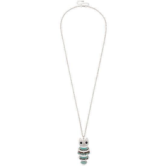 Decree 18 Inch Cable Round Pendant Necklace