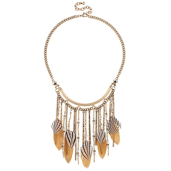 Decree 16 Inch Cable Round Statement Necklace