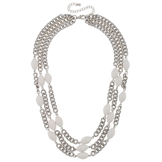 Mixit 16 1/2 Inch Statement Necklace