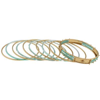 Mixit Gold Tone Beaded Bracelet