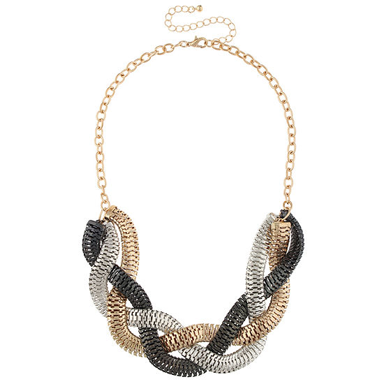 Bold Elements 16 Inch Cable Pendant Necklace