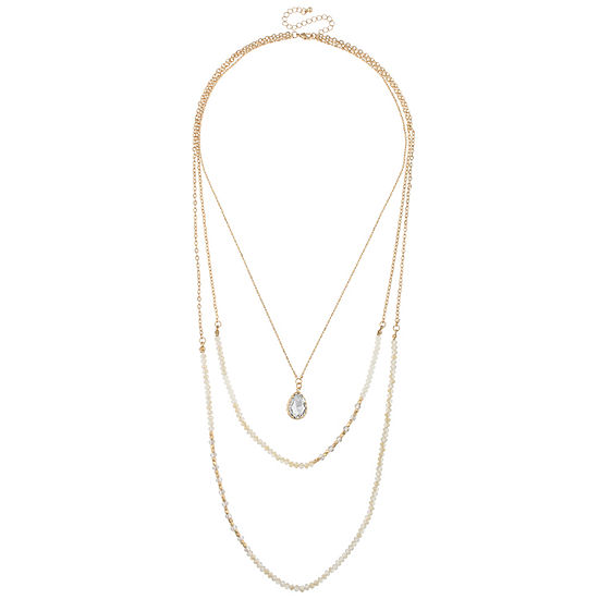 Bold Elements 16 Inch Pendant Necklace