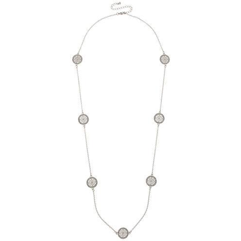 Bold Elements Womens Pendant Necklace