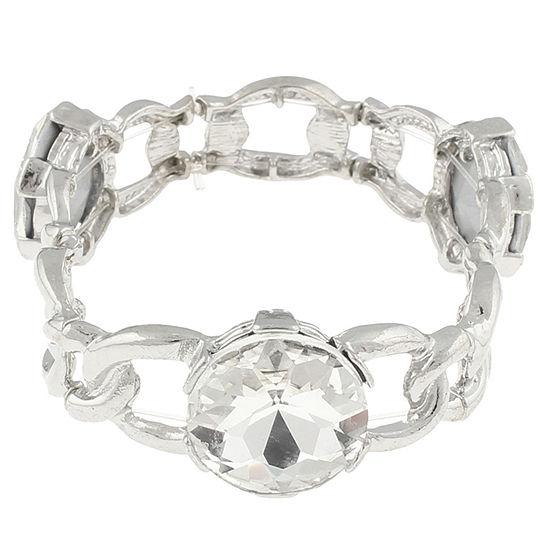 Bold Elements Curb Stretch Bracelet