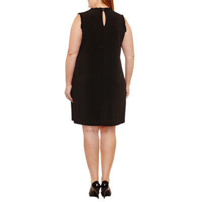 Maggy London Intl Sleeveless Shift Dress - Plus