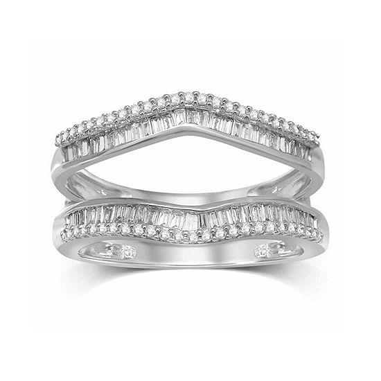 Womens 1 2 Ct Tw Genuine Diamond 14k Gold Band