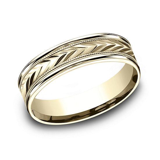 6 Mm 10K Gold Wedding Band