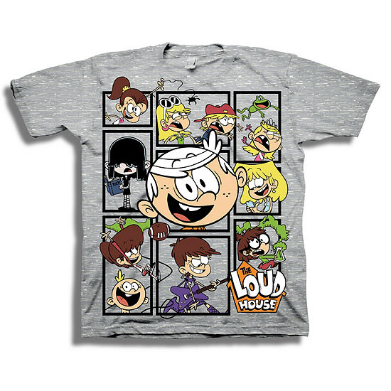Boys Short Sleeve T-Shirt-Preschool